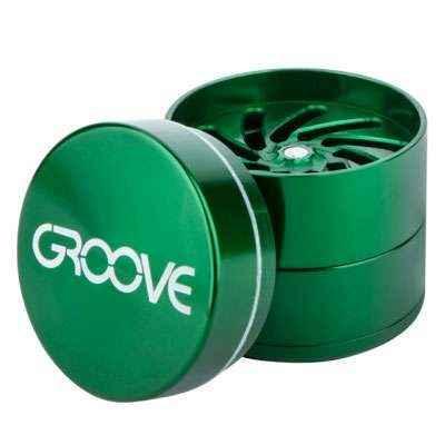 Groove 4-Piece Grinder Aerospaced Grinders Evertree
