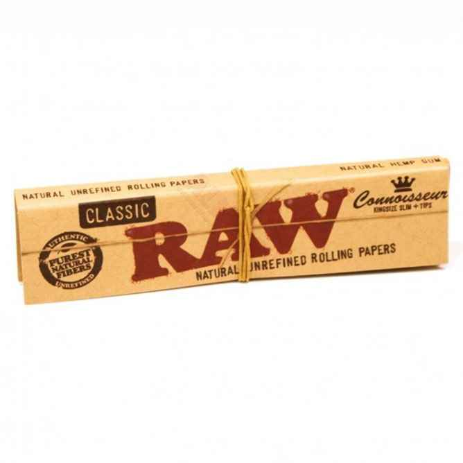 RAW Connoisseur Papers & Tips Accessories Evertree