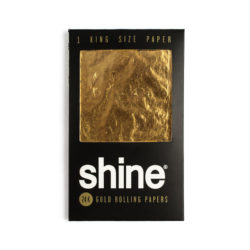 Shine 24K Gold King Size Paper Shine Rolling Papers Evertree