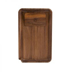 Marley Natural Walnut Rolling Tray, Small Accessories Evertree