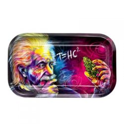 V-Syndicate Einstein Metal Rolling Tray – Med Accessories Evertree