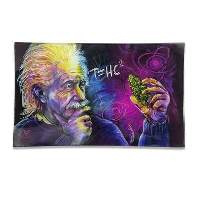 V-Syndicate Einstein Glass Rolling Tray Evertree