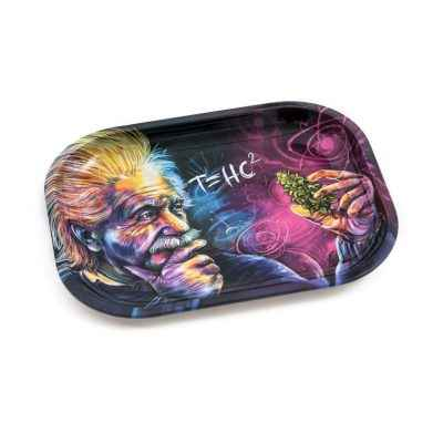 V-Syndicate Einstein Metal Rolling Tray – Small Accessories Evertree